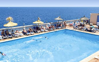 Hotel America, Španělsko, Baleáry - Mallorca, 8 dní, Letecky, All inclusive, Alespoň 4 ★★★★, sleva 21 %, bonus (Levné parkování u letiště: 8 dní 499,- | 12 dní 749,- | 16 dní 899,- , Změna destinace zdarma)