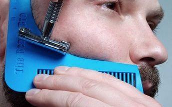 Šablona na holení vousů
