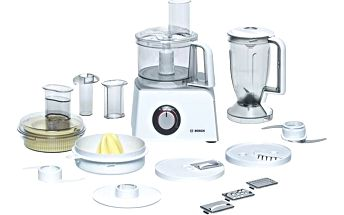 Kuchyňský robot Bosch MCM4200 stříbrný/bílý