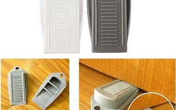 Bezpečnostní zarážka pod dveře - 2 kusy - skladovka - poštovné zdarma