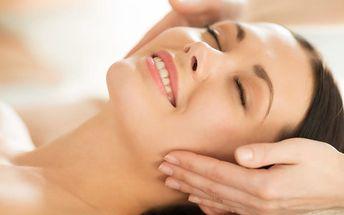 Lymfatická masáž obličeje
