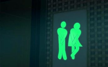 Samolepka na toaletu - svítí ve tmě - dodání do 2 dnů