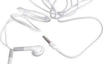 Stereo sluchátka 3,5mm pro běžné přehrávače - pecky - skladovka - poštovné zdarma