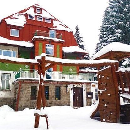 3–6denní pobyt pro 2 osoby se saunou v Krkonoších v horské chatě Zvonice