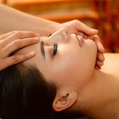 Indická antistresová masáž hlavy a krční páteře