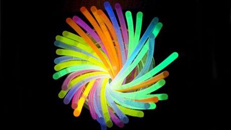 Svítící tyčinky Lightstick - 100 ks