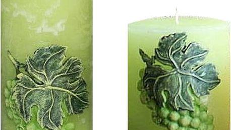 Nádherná svíčka s motivem hroznů do každého domova nebo jako dárek.