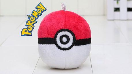 Pokémon - Plyšový Poké ball - 17cm