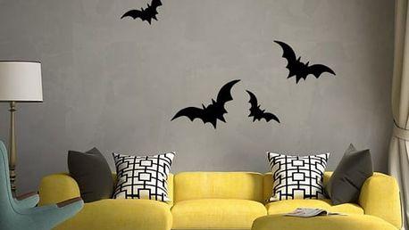 Samolepka na zeď - velcí netopýři