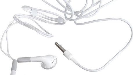 Stereo sluchátka 3,5mm pro běžné přehrávače - pecky - dodání do 2 dnů