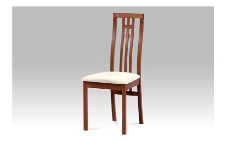 Dřevěná židle ZBC-2482 TR3, třešeň