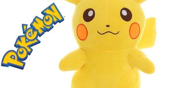 Pokémon - Plyšový Pikachu - 22 cm