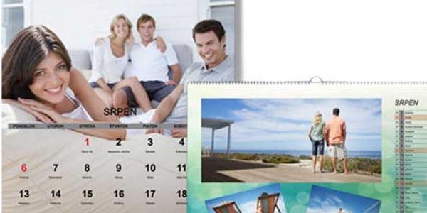 Kvalitní nástěnný nebo stolní fotokalendář 2017