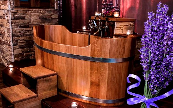 Levandulová koupel pro dva v Lázních Stodolní