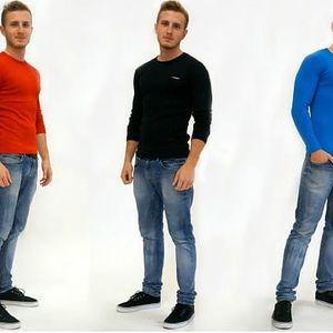 Jednobarevné pánské triko Centrix! - VÝPRODEJ