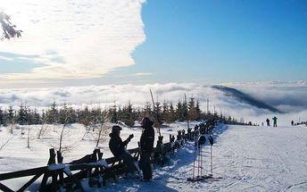 Až 8denní zimní dovolená v Krkonoších