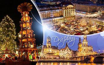 Drážďany o advent: zájezd pro 1 osobu na vánoční trhy + doprava z Prahy a průvodce