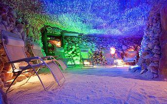 Vstup do solné jeskyně v Praze pro pár i rodinu