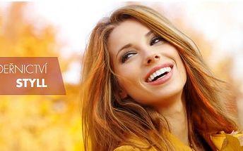 Dámské kadeřnické balíčky pro všechny délky vlasů: Střih a mytí + možnost barvy