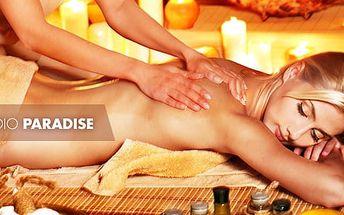 50min. masáž: zdravotní, konopná, ajurvedská či klasická masáž, Ostrava