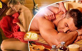 Smyslná tantra masáž pro ženy i muže v délce 60, 90 nebo 120 minut