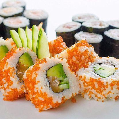 Pestré sety čerstvého sushi k odnosu s sebou