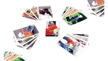 Hrací karty na Kanastu, Žolíky a další hry s vlastními fotografiemi