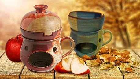 Nezbytný společník každého jablkoholika - keramický rozpékač na jablíčka