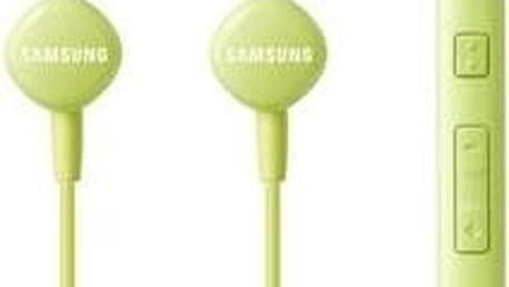 Samsung sluchátková sada stereo s ovládáním EO-HS1303G, 3,5 mm, zelená - EO-HS1303GEGWW