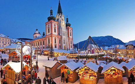 Adventní Mariazell s průvodem čertů pro JEDNOHO – odjezdy z mnoha míst ČR