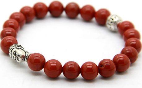 Buddhistický náramek z drahých kamenů! - VÝPRODEJ
