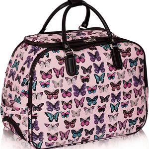 Dámská cestovní taška Butterfly 309B tělová