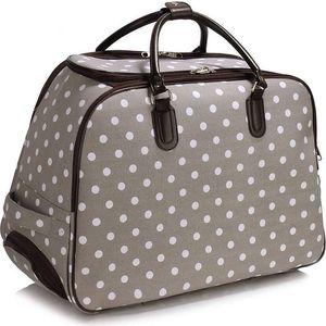 Dámská cestovní taška Dot 309 šedá