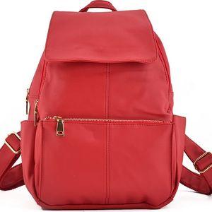 Dámský červený batoh Keroley 5049
