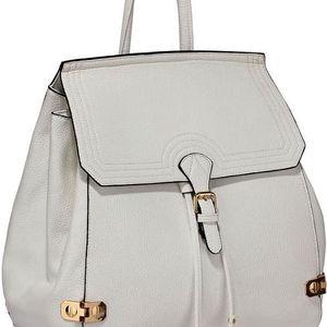 Dámský bílý batoh Wisin 513