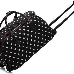 Dámská cestovní taška Esmme 308D černá