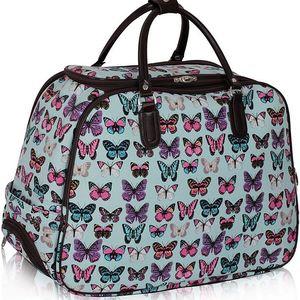 Dámská cestovní taška Butterfly 309B modrá