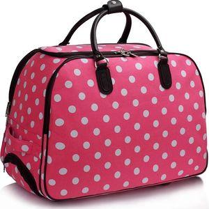 Dámská cestovní taška Dot 309 růžová