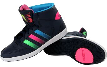 Dámské kotníkové tenisky Adidas Hoops Street vel. EUR 36 2/3, UK 4