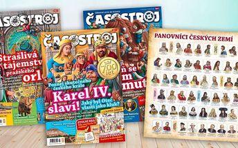Roční předplatné dětského magazínu Časostroj