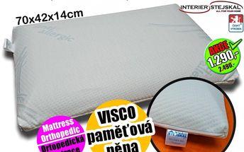 VISCO polštář velký ORTHO STAR SLEVA