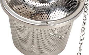 Praktické sítko na čaj z nerezové oceli