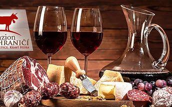 Bořetice - 3denní vinařský pobyt pro dva + polopenze a neom. konzumace vína až do 8/2017