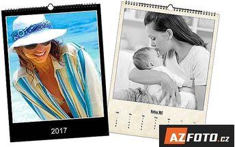 Nástěnné kalendáře s vlastními fotografiemi – 13 listů