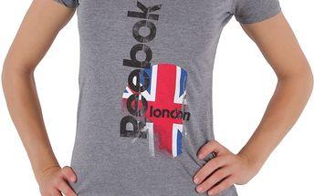 Dámské tričko s potiskem Reebok vel. S