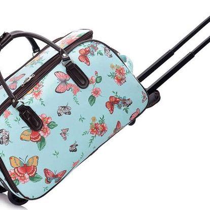Dámská cestovní taška Nicki 308C modrá