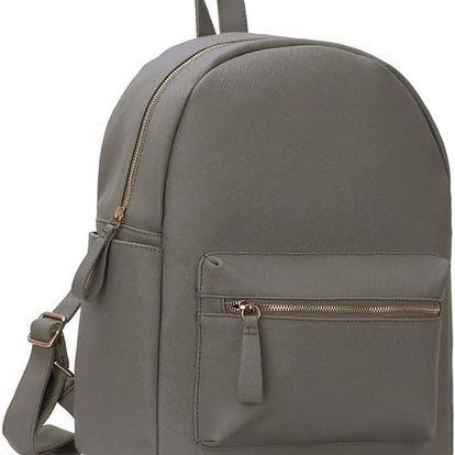 Dámský šedý batoh Miranda 186A