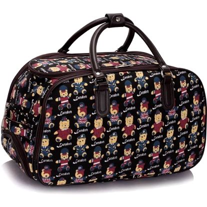 Dámská cestovní taška Teddy 308B černá