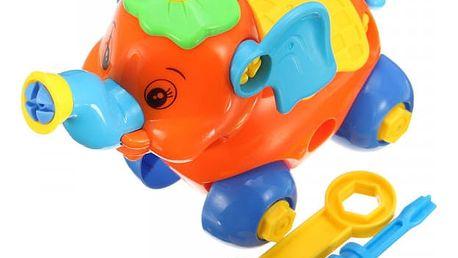 Dětská puzzle hračka - slon