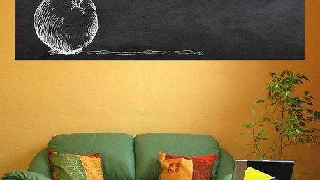 Samolepka Ambiance Giant Chalkboard, 60x200 cm - doprava zdarma!